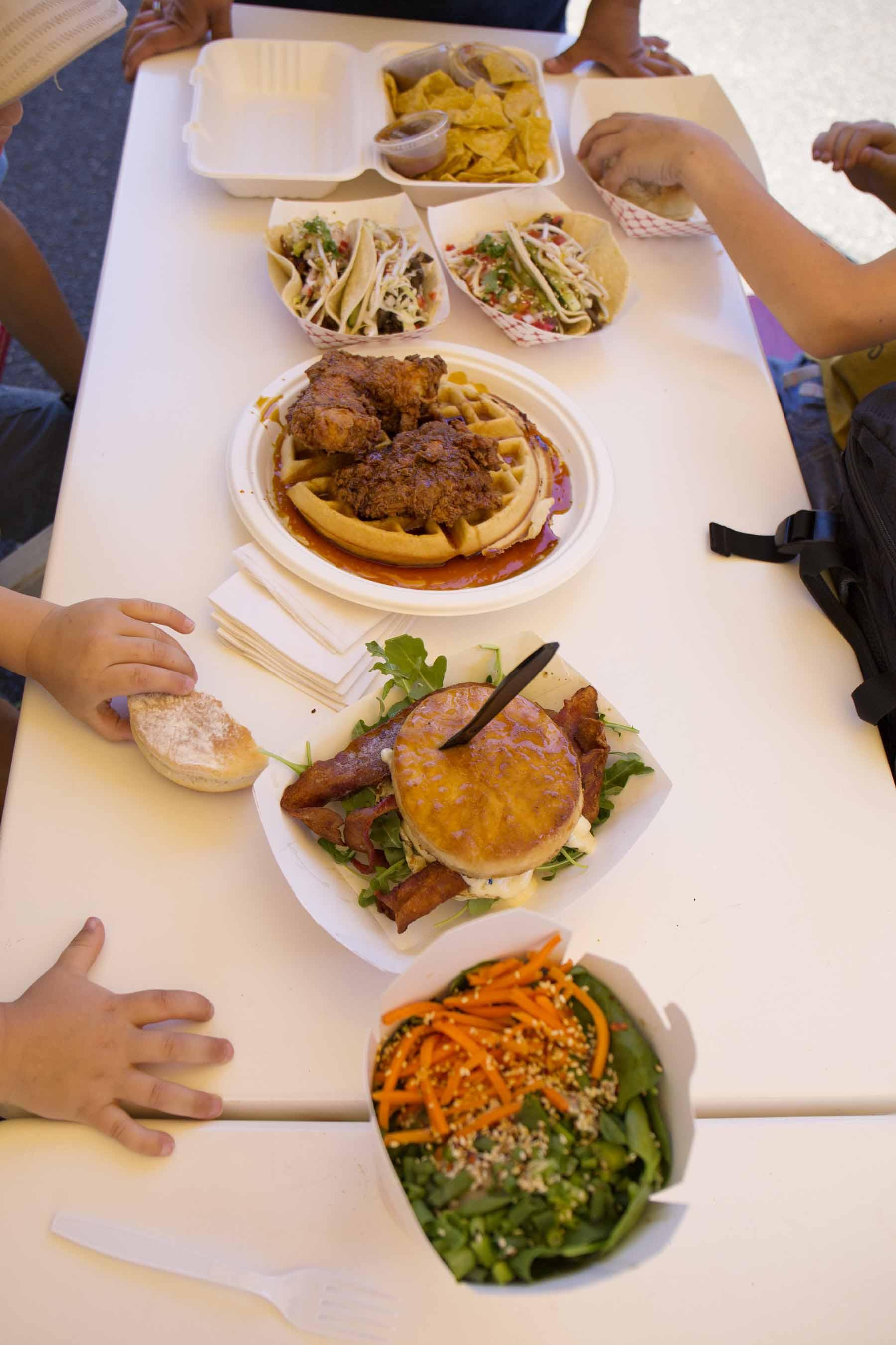 Food truck feast