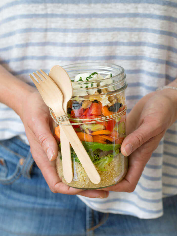 Shaking Salad Smart Aging