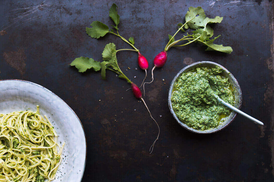 Leaf to Root Pesto