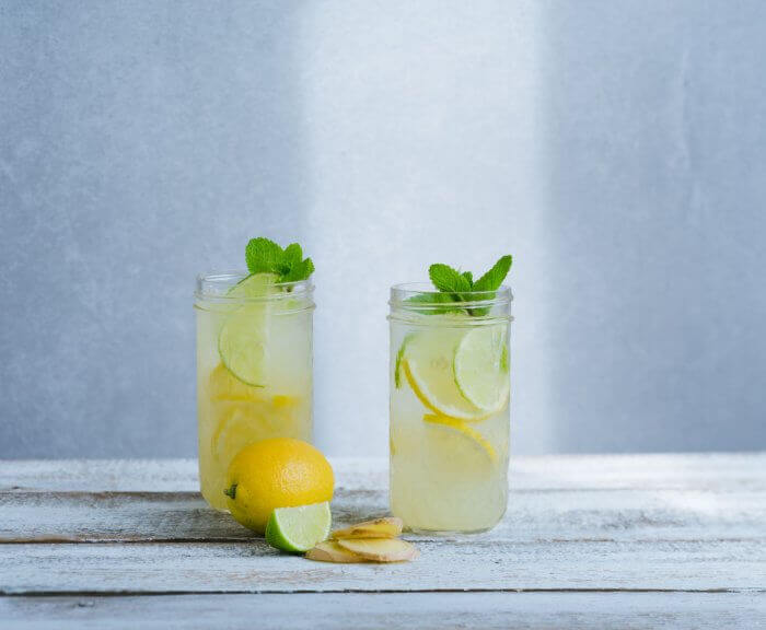 Lemon Mint Switchel